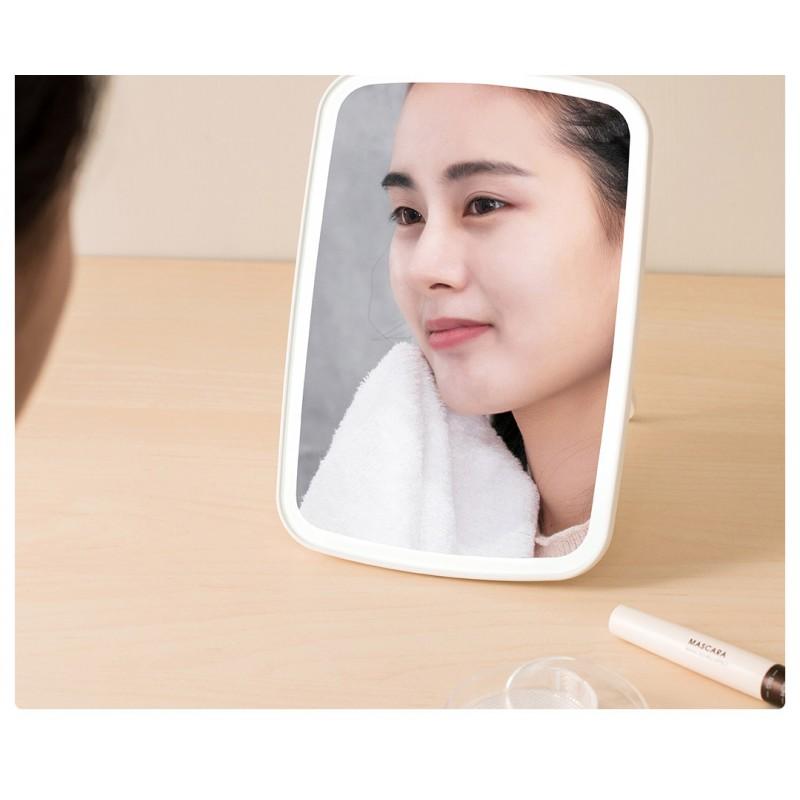 Xiaomi Jotun Judy Desktop LED Makeup Mirror, зеркало для макияжа с подсветкой