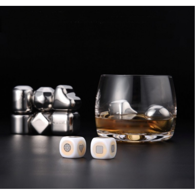Xiaomi Circle Joy Ice Cubes, охлаждающие камни для напитков (6 шт)