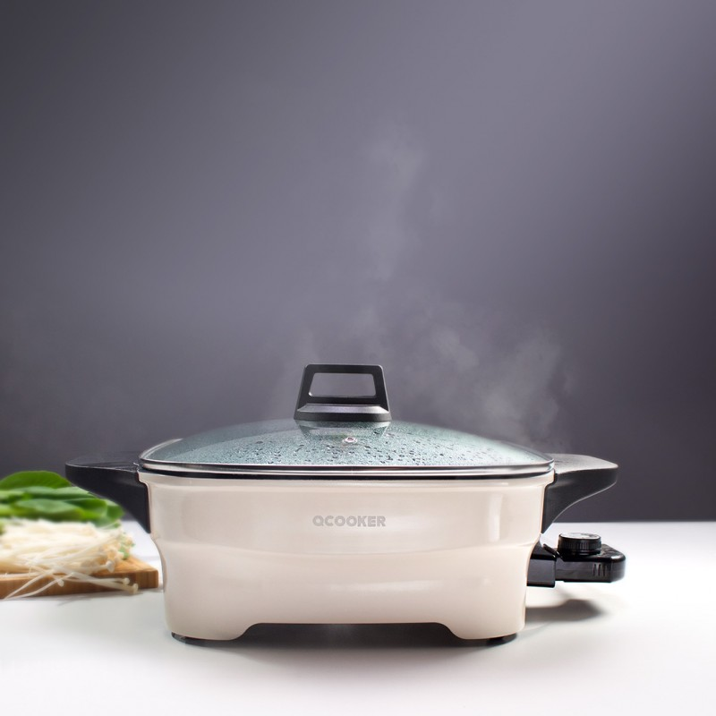 Xiaomi Qcooker Multi-Purpose Household Electric Hot Pot, электрогриль