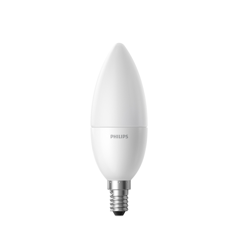 Led лампочка Xiaomi Philips Master LED candle Bulb GPX4009RT, матовая
