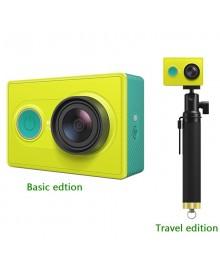 Xiaomi Yi camera Travel Edition, экшн-камера + монопод