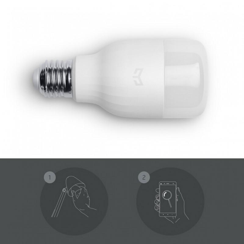 Xiaomi Yeelight LED Bulb, Умная Wifi лампа