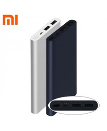 Xiaomi Mi Power bank 2S, 10000mah (2xUSB), silver
