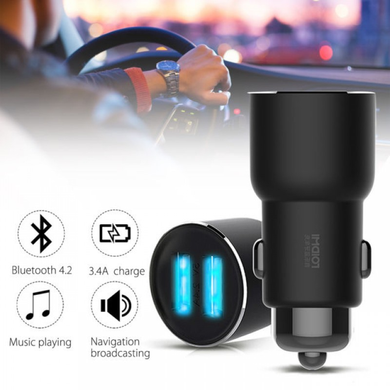 Xiaomi Roidmi 3S, Bluetooth Car Charger & Player